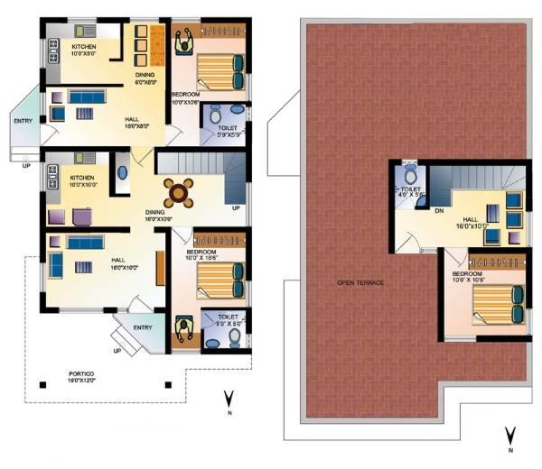 Фото проектов частных домов - двухэтажный дом