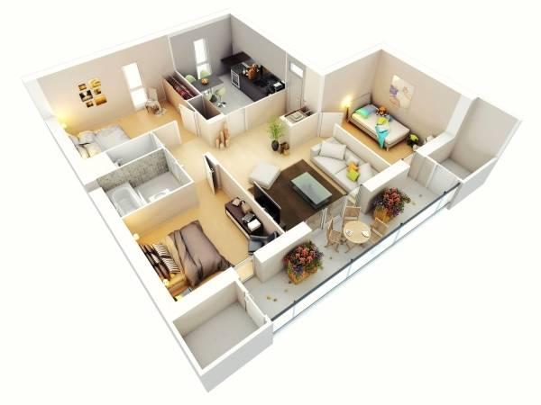 Современный дизайн частного дома своими руками
