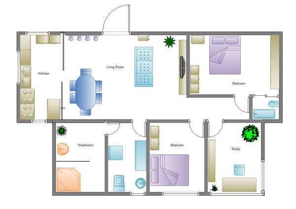 Как выглядит проект дизайна частного дома