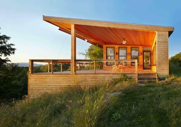 Дизайн деревянного частного дома фото