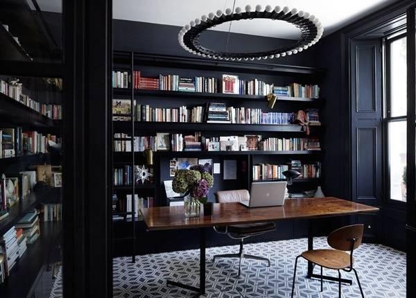 Современный домашний офис в интерьере