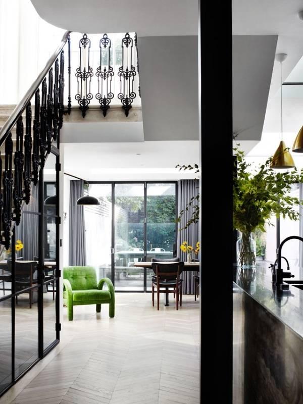 Внутренний дизайн частного дома в стиле модерн
