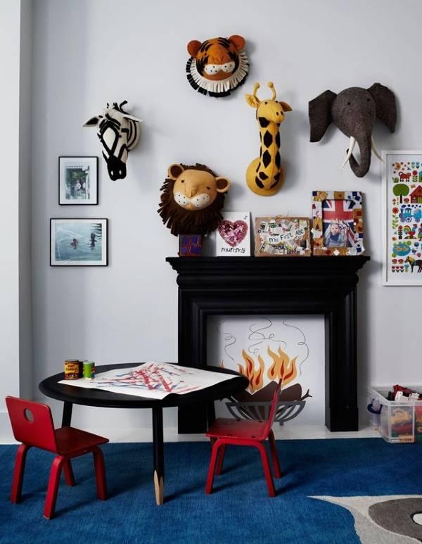 Внутренний дизайн частных домов - фото детской комнаты