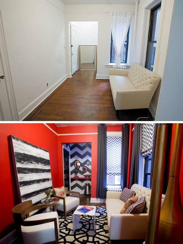Фото интерьеров до и после в частном доме
