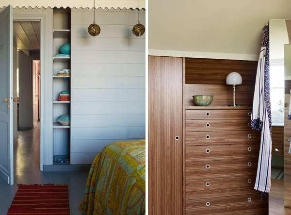 Встроенная мебель шкафы комоды для спальни