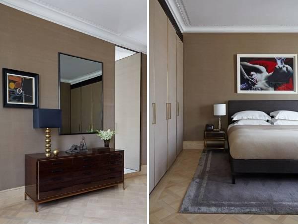 Внутренний дизайн спальни частного дома