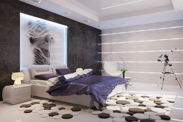 Дизайн квартиры своими руками спальня фото 603
