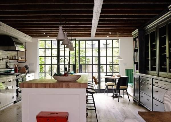 Внутренний дизайн домов - фото кухни