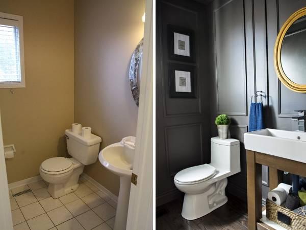 Стильный дизайн санузла в частном доме