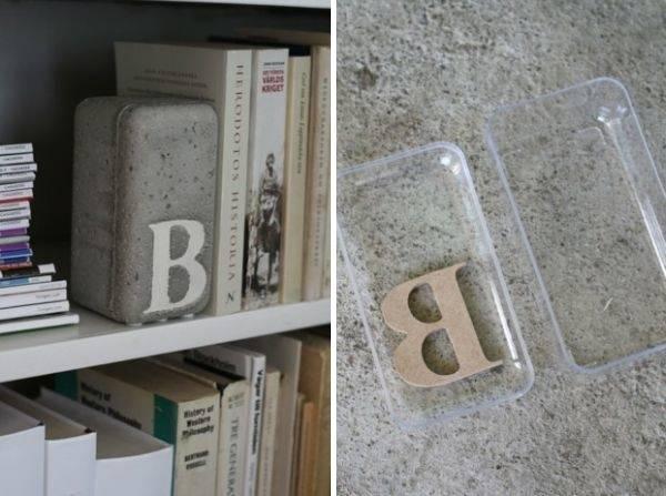 Декор и поделки из бетона для дома