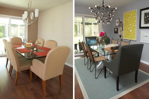 Столовая в частном зоне фото интерьера до и после