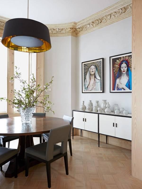 Стильный внутренний дизайн частного дома