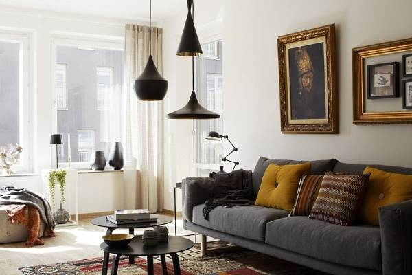 Светильники в дизайне интерьера частного дома