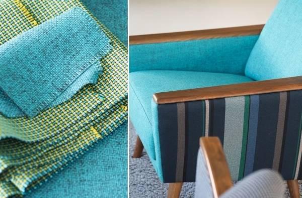 Мебель и ткани Tweed от Designers Guild