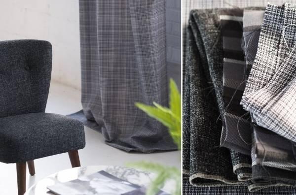 Твид для обивки мебели и штор - тренды осени 2015