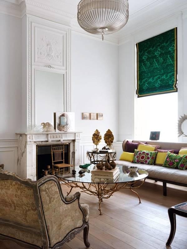 Дизайн гостиной в частном доме в стиле модерн