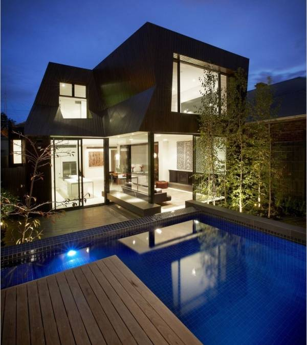 Внешний дизайн частного дома фото фасада