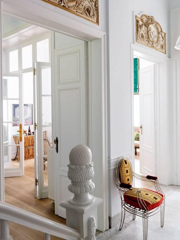 Красивый декор интерьера частного дома