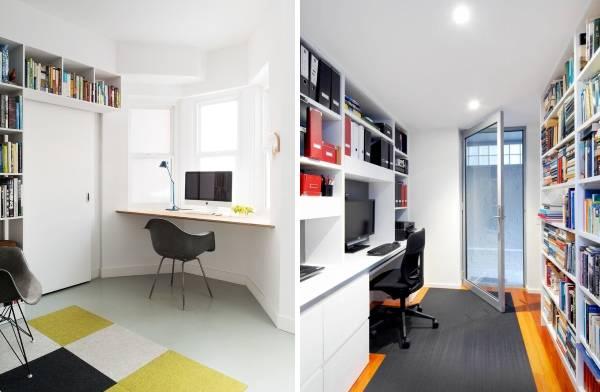 Как обустроить домашний офис: мебель, шкафы, полки
