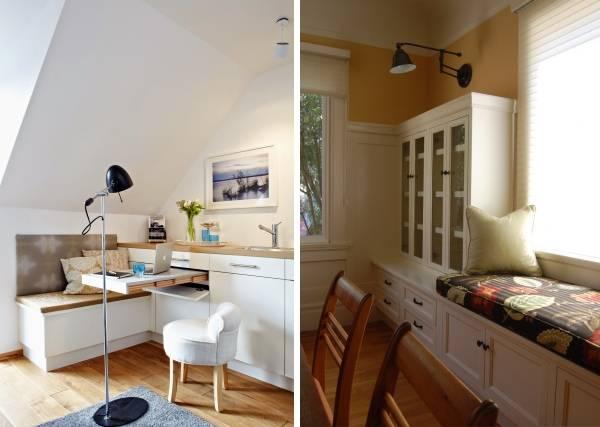 Встроенные кухонные шкафы и диваны