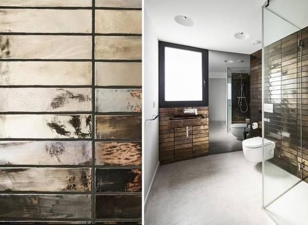 Зеркальная плитка для ванной комнаты фото дизайн