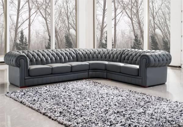 Угловая мягкая мебель для гостиной - фото дивана в интерьере