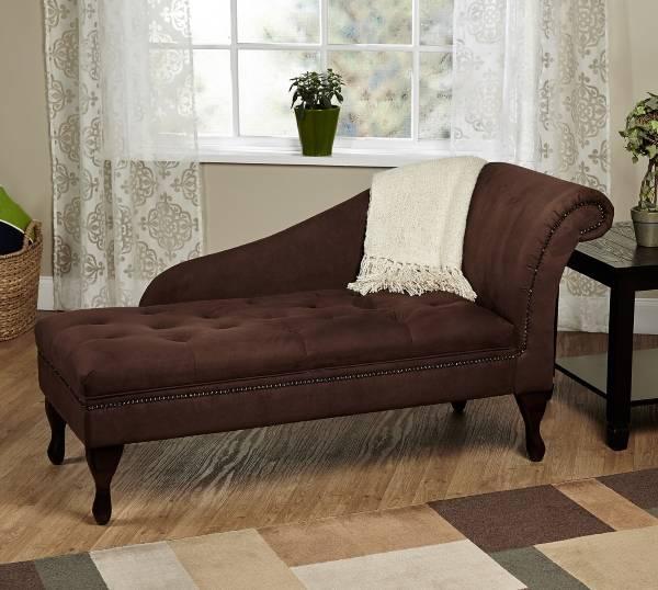 Угловая мягкая мебель для зала - фото кушетки или шезлонга