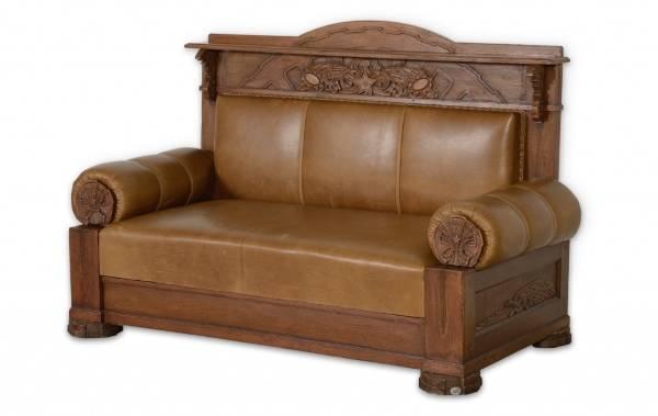 Советская мебель при Сталина: диван 30-х годов