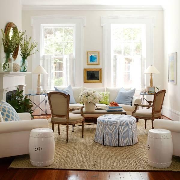 Фото уютной гостиной в современном стиле