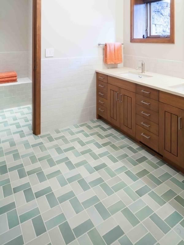Простая отделка ванной комнаты плиткой фото дизайн
