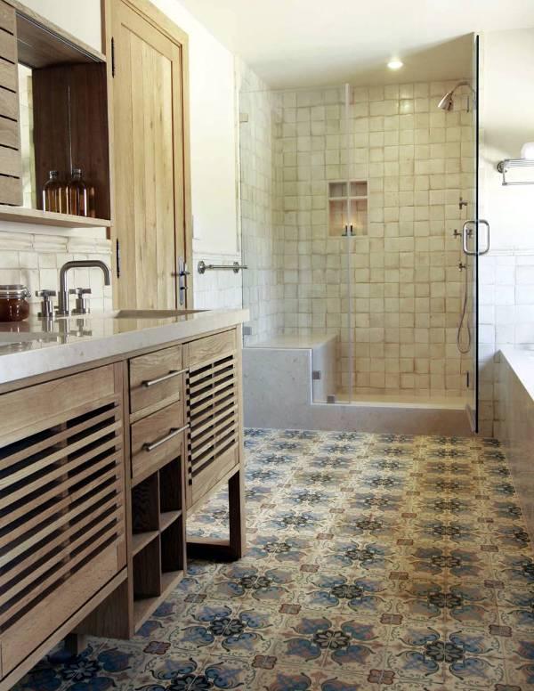 Стильная плитка в ванную комнату дизайн фото