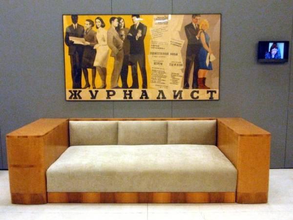 Стильный и удобный советский диван