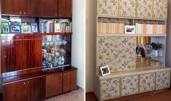 Фото как реставрировать старую мебель фото