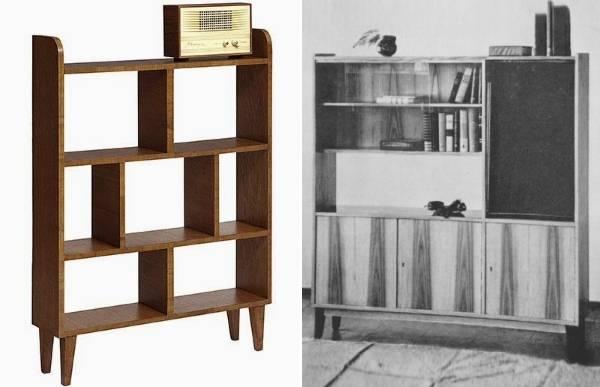 Стильная советская мебель под реставрацию