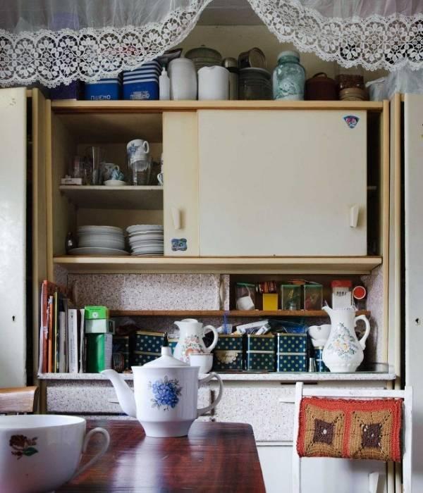 Советский кухонный гарнитур в интерьере