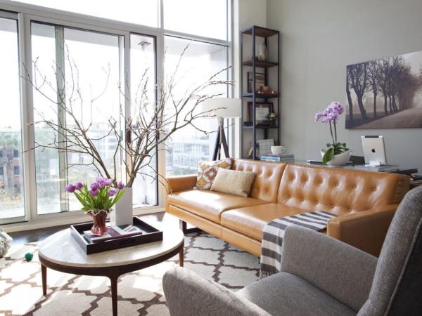 Современный стиль в интерьере небольшой квартиры