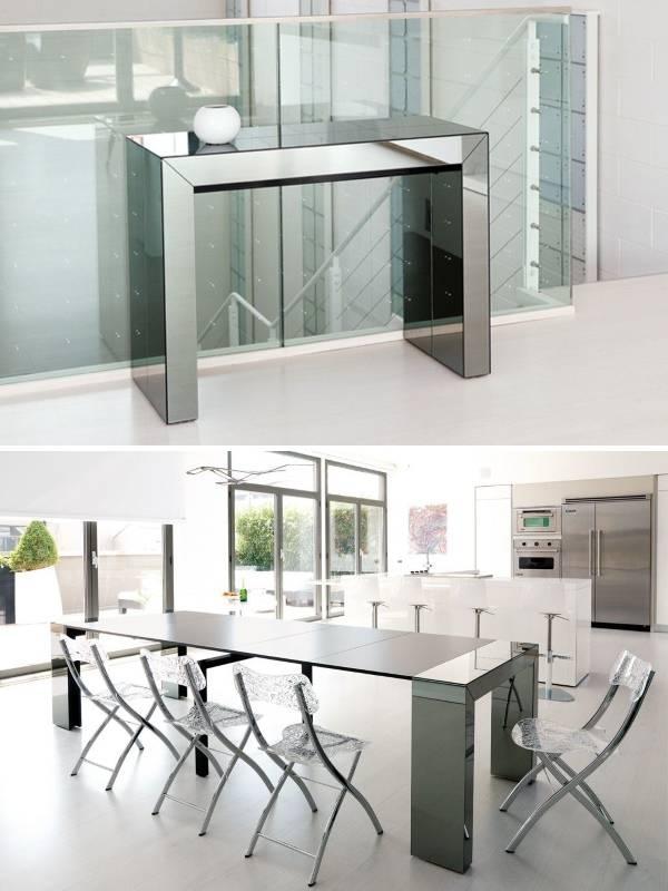 Умная мебель трансформер - раскладной стол