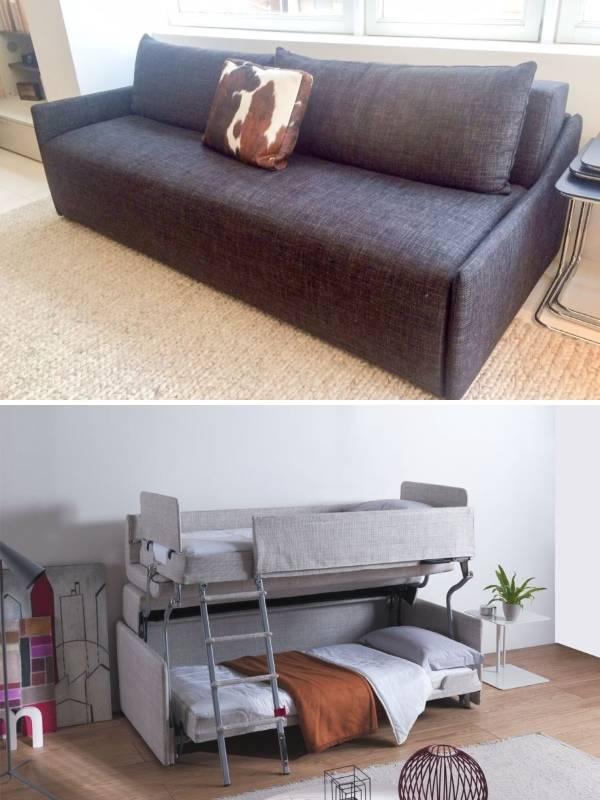 Умная мебель диван трансформер для детской комнаты