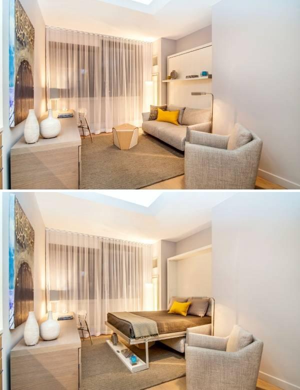 Мебель трансформер для малогабаритной квартиры Nuovoliola 10