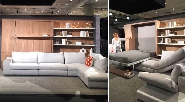 Умная мебель трансформер от Resource Furniture