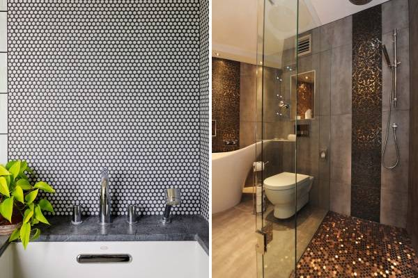 Плитка для ванной на пол комнаты фото дизайн