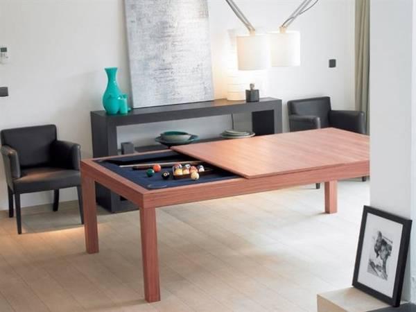 Многофункциональный стол трансформер с бильярдом