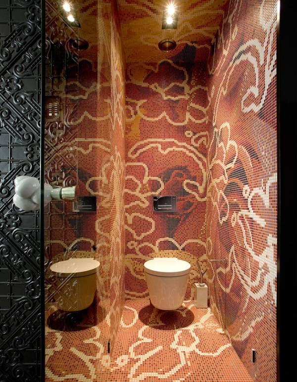 Плитка в ванную комнату фото мозаики