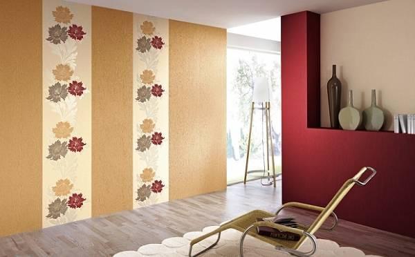Вертикальный декоративный бордюр для обоев