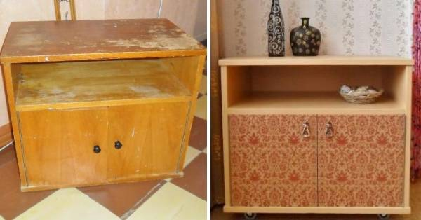 Реставрация советской мебели своими руками