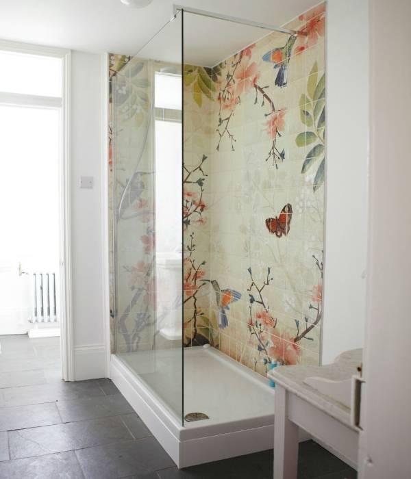 Плитка в ванной фото дизайн плитки с рисунком