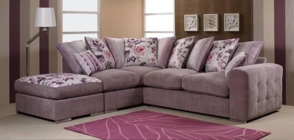 Мягкий угловой диван фото в гостиной