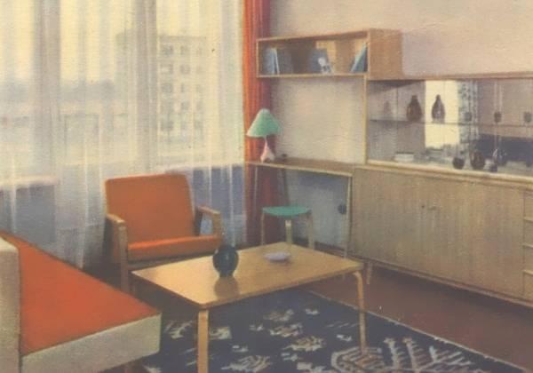 Советская мебель в стиле минимализм 50-60-х