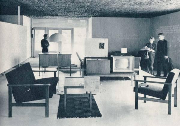 Стильная советская мебель для гостиной 50-60-х годов