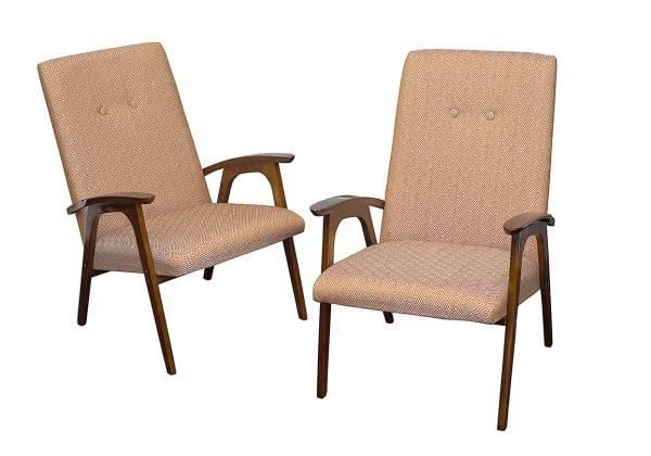 Советские кресла периода 50-70-х годов